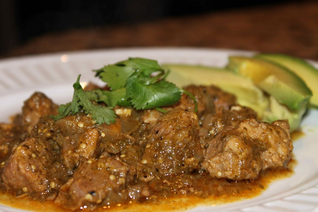 Authentic Pork Green Chili Recipe  authentic chili verde slow cooker recipe