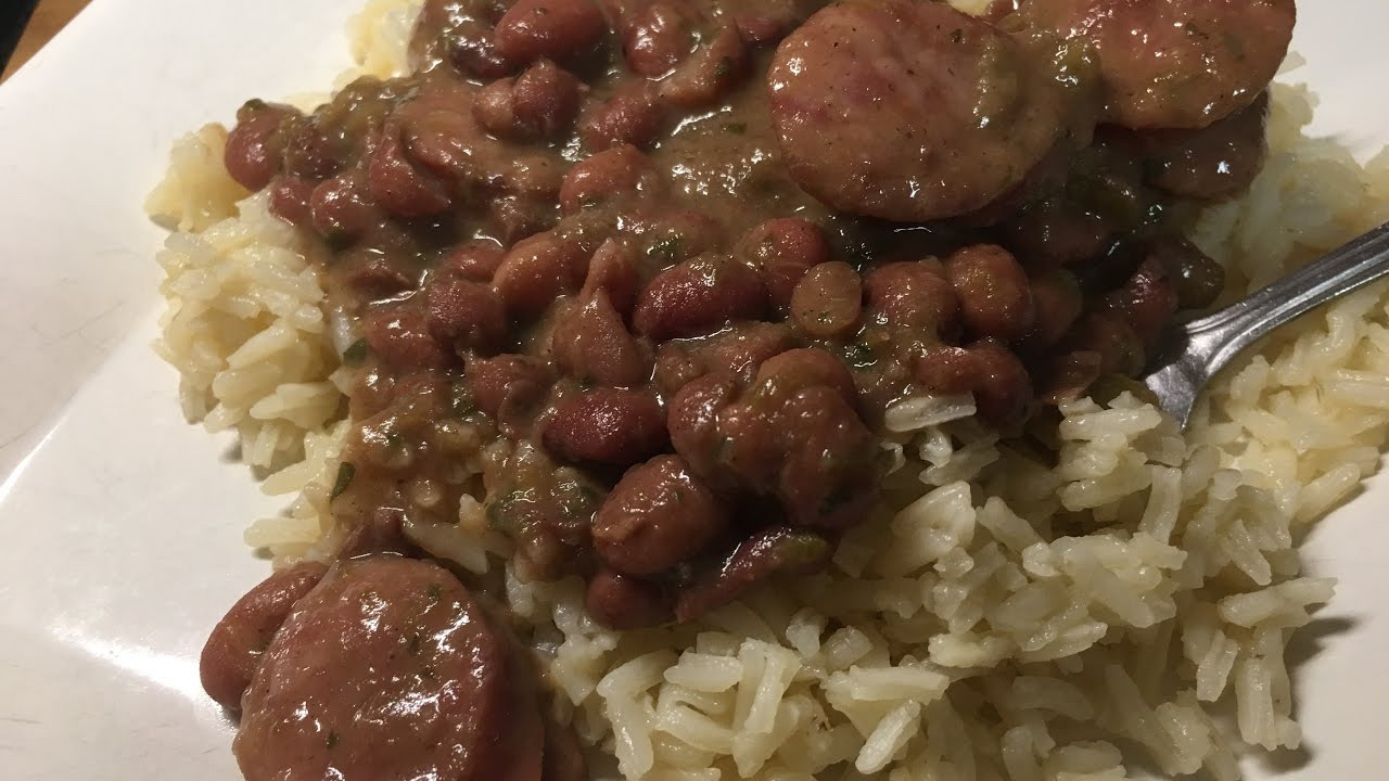 Authentic Red Beans And Rice  Authentic Cajun Red Beans and Rice