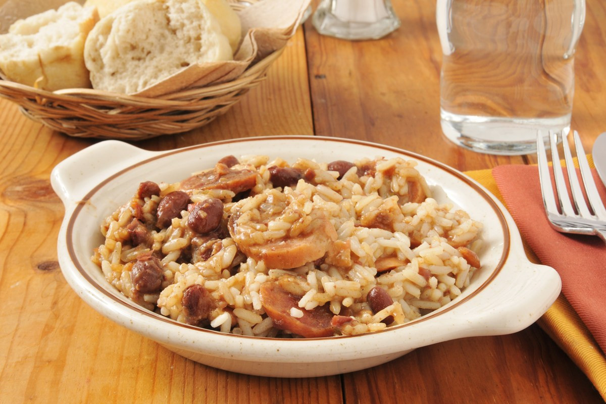 Authentic Red Beans And Rice  Authentic Louisiana Red Beans and Rice KitchMe