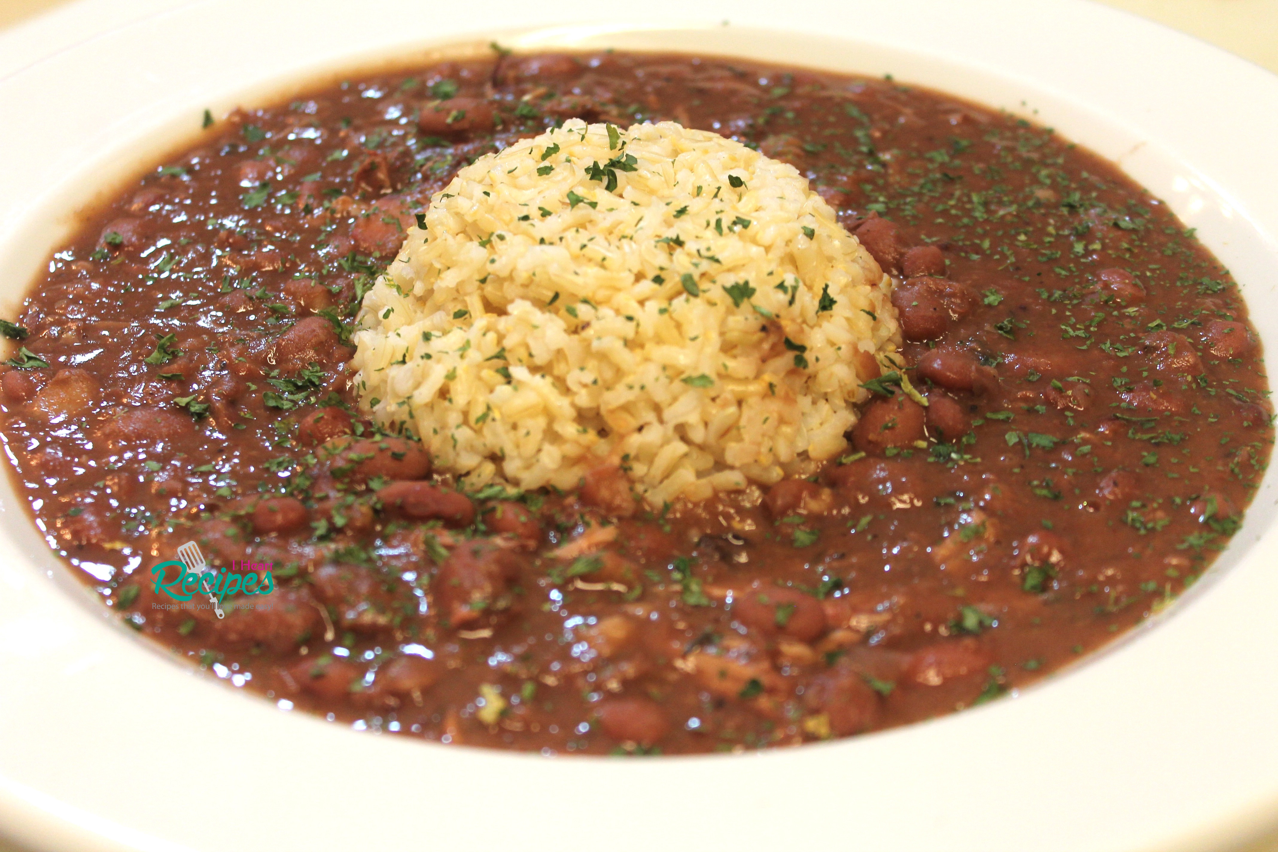 Authentic Red Beans And Rice  Slow Cooker Red Beans and Rice