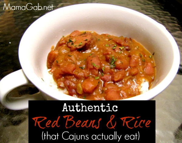 Authentic Red Beans And Rice  Recipe Authentic Red Beans and Rice Gabrielle Daigle