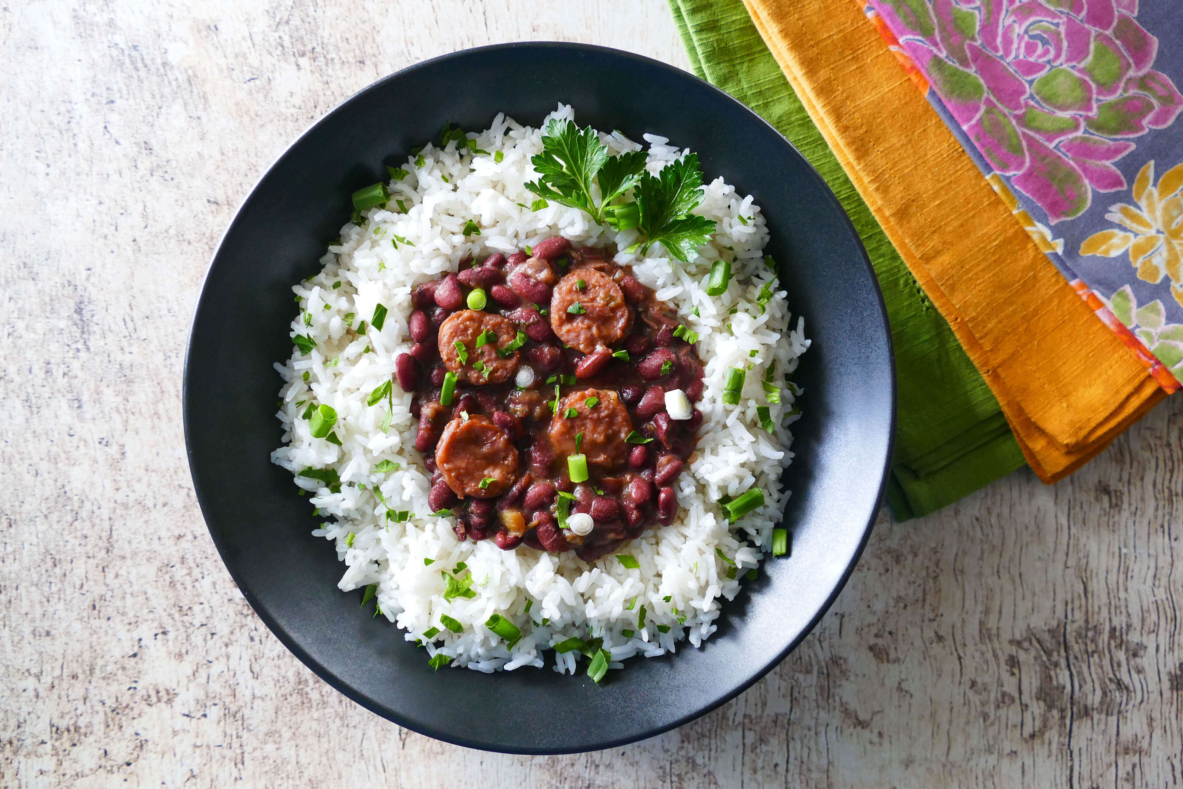 Authentic Red Beans And Rice  Authentic Instant Pot Red Beans and Rice Paint The
