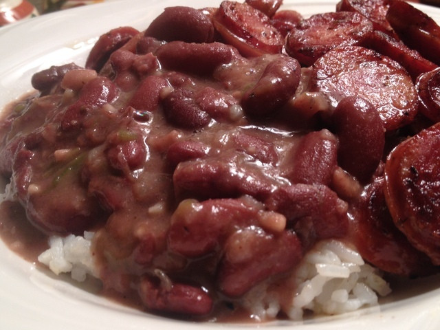 Authentic Red Beans And Rice  Authentic Red Beans and Rice in the Crock Pot Recipe