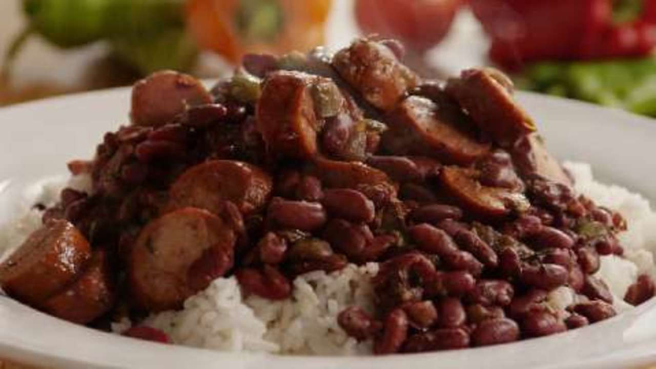 Authentic Red Beans And Rice  Authentic Louisiana Red Beans and Rice Video Allrecipes