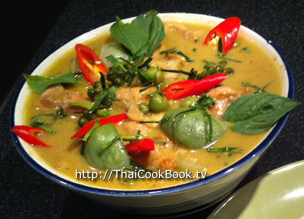 Authentic Thai Recipes  Authentic Thai Recipe for Sweet Green Curry with Chicken