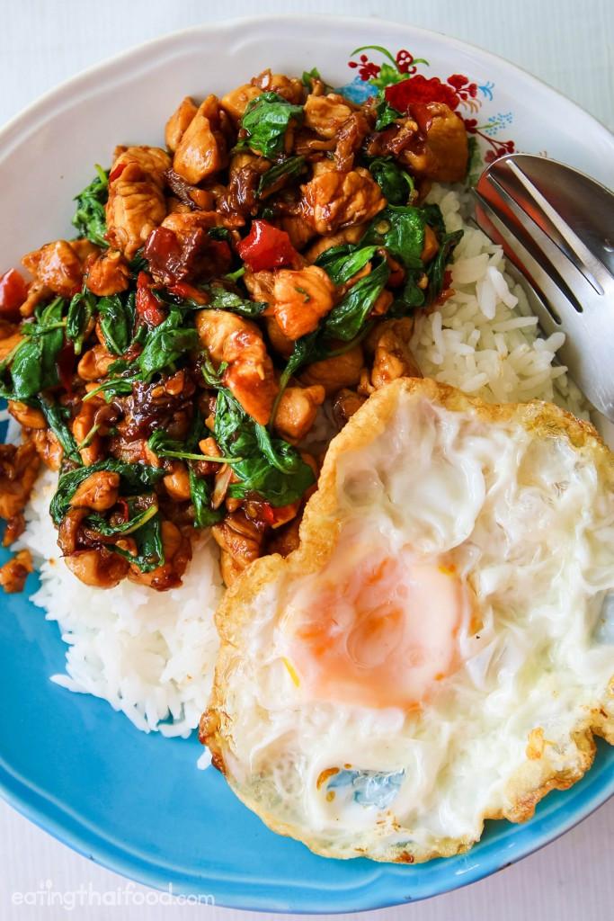 Authentic Thai Recipes  Authentic Thai Basil Chicken Recipe ผัดกระเพราไก่