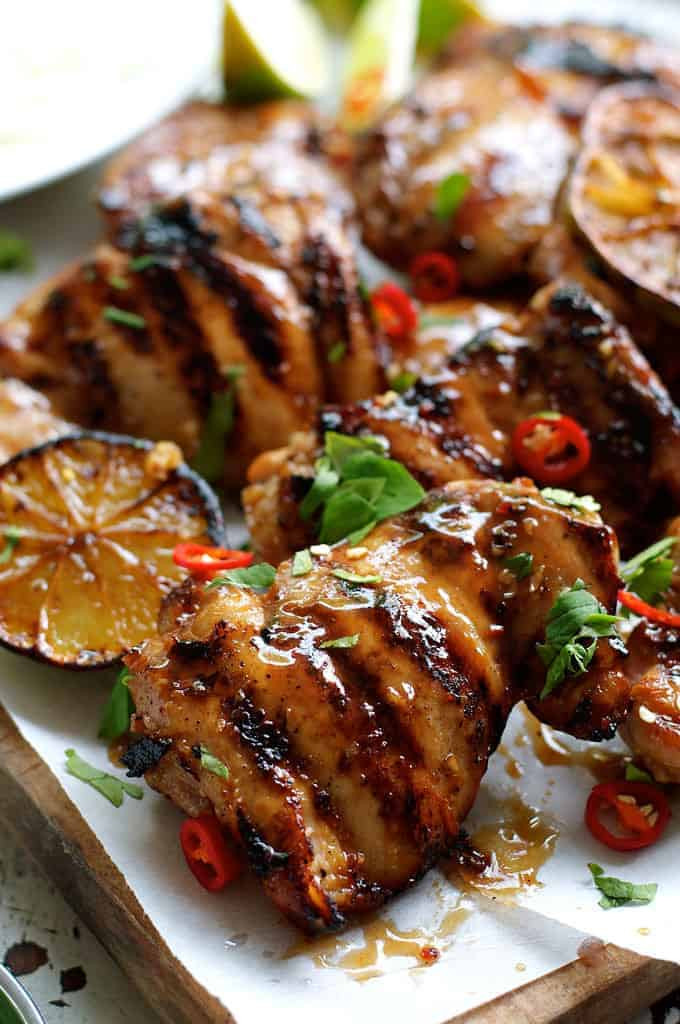 Authentic Thai Recipes  Grilled Marinated Thai Chicken Gai Yang