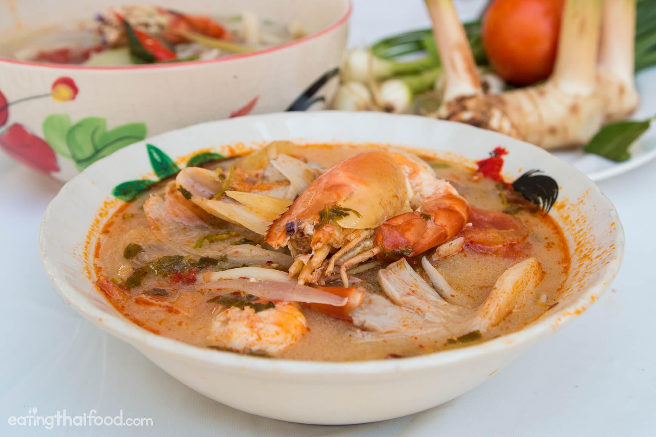 Authentic Thai Recipes  Tom Yum Soup Recipe ต้มยำกุ้ง Authentic Thai Style