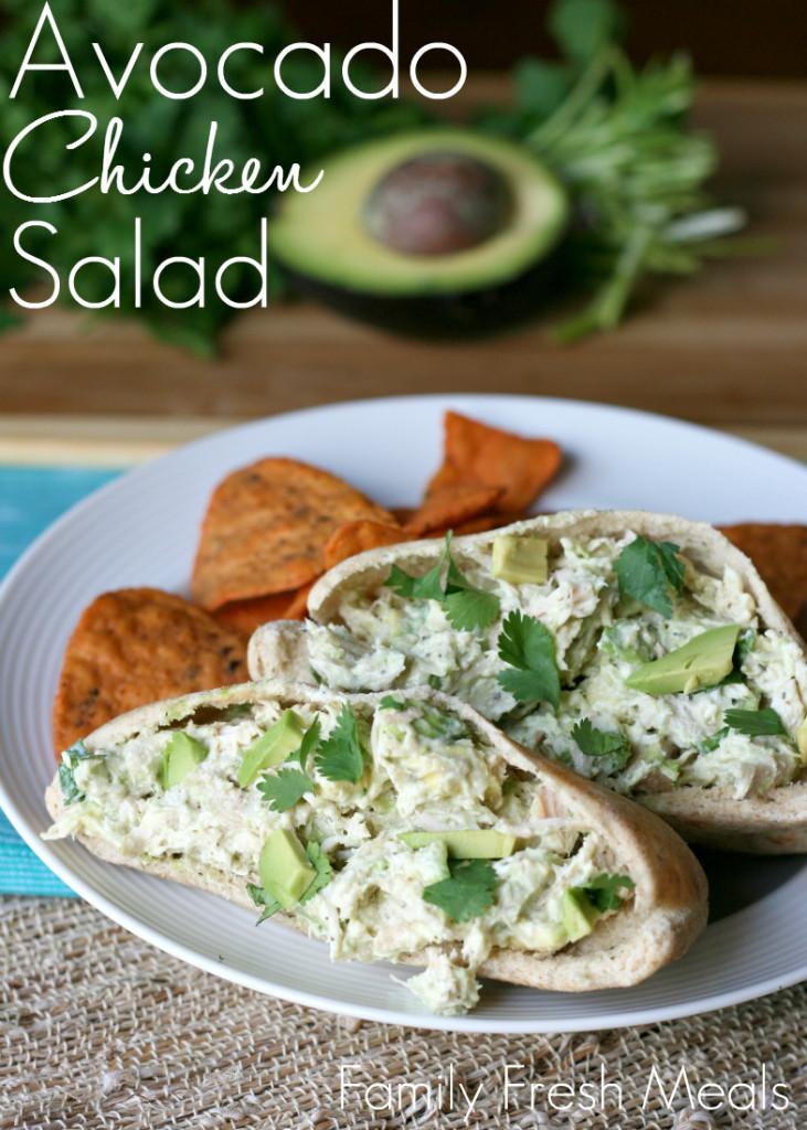 Avacado Chicken Salad  Healthy Avocado Chicken Salad Family Fresh Meals