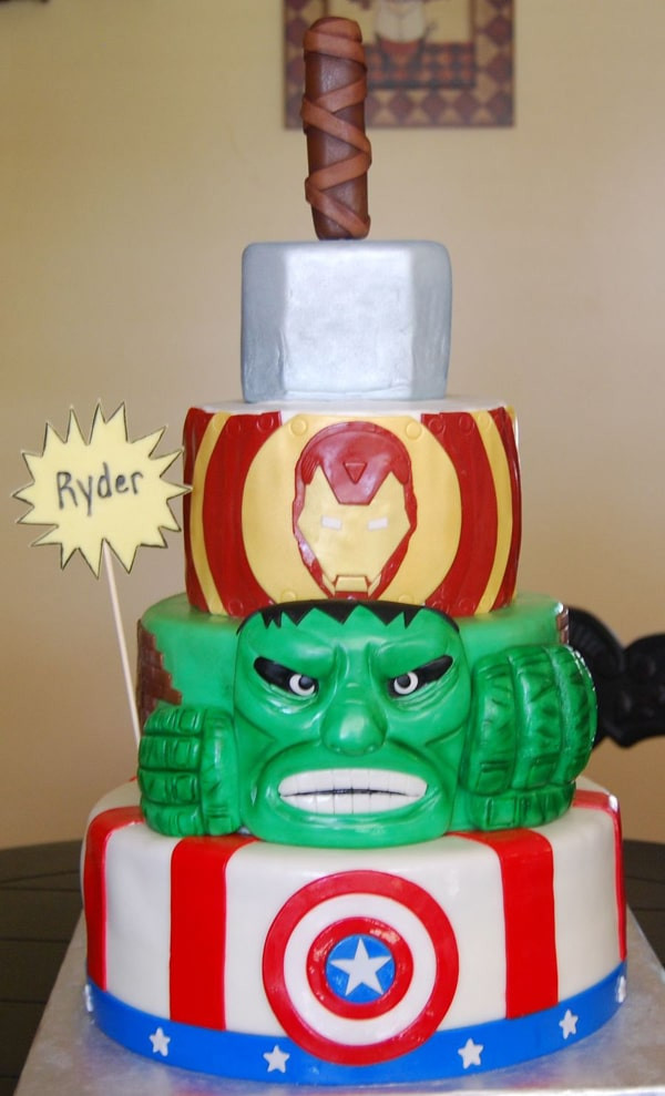 Avengers Birthday Cake  10 Awesome Avengers Cakes Pretty My Party