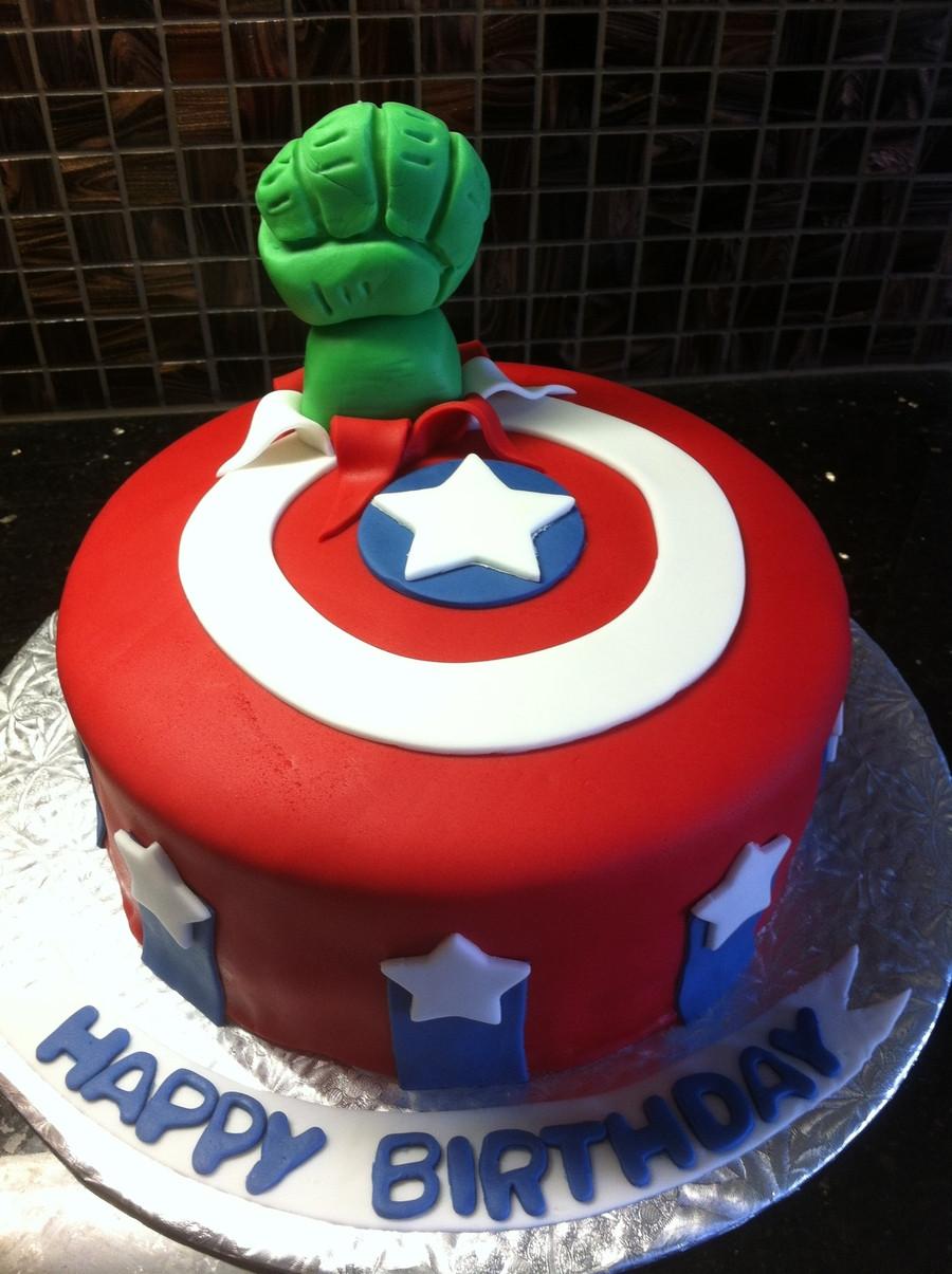 Avengers Birthday Cake  Avengers Birthday Cake CakeCentral