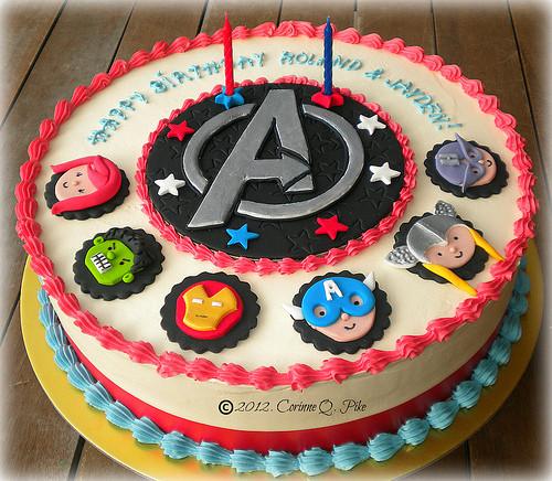 Avengers Birthday Cake  Avengers Birthday Cakes and Cupcakes