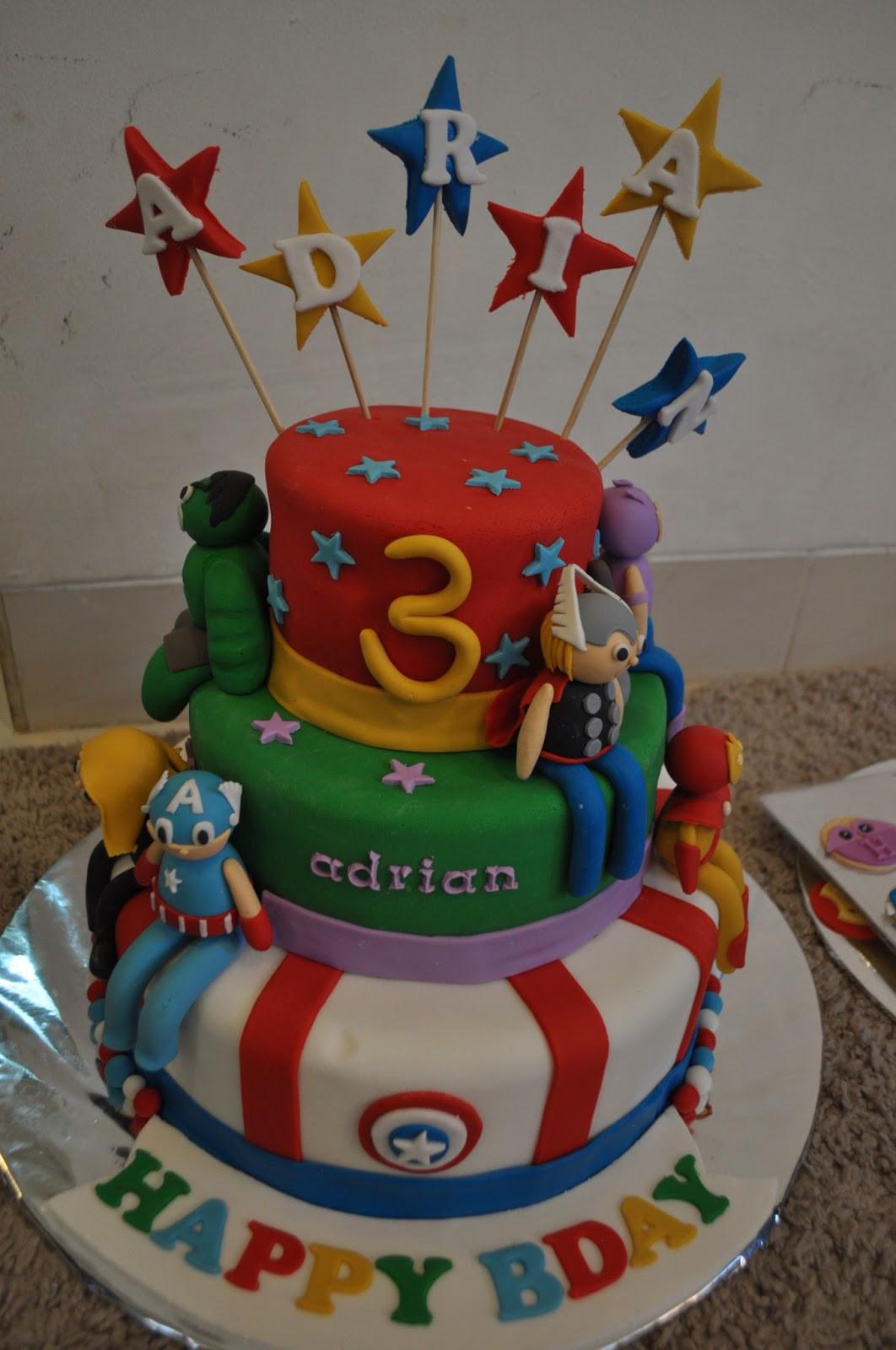 Avengers Birthday Cake  momatoye Avengers Birthday Cake Ocii