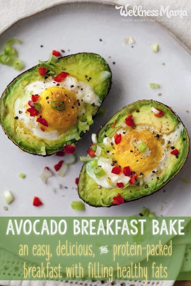 Avocado Breakfast Recipes  Avocado Breakfast Egg Cups Recipe