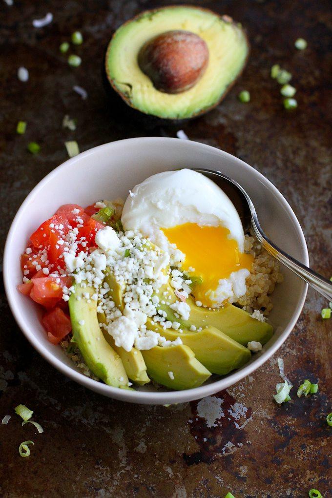 Avocado Breakfast Recipes  Quinoa Avocado Breakfast Bowl Recipe Cookin Canuck