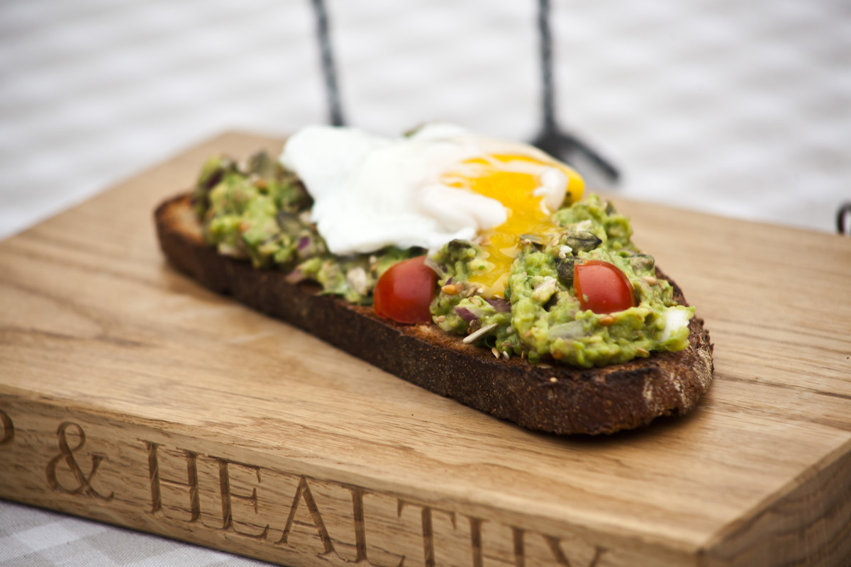 Avocado Breakfast Recipes  Healthy Breakfast Recipe Eggs and Avocado on Toast Hip
