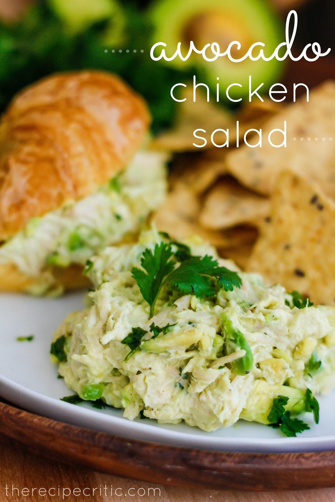 Avocado Chicken Salad  Avocado Chicken Salad