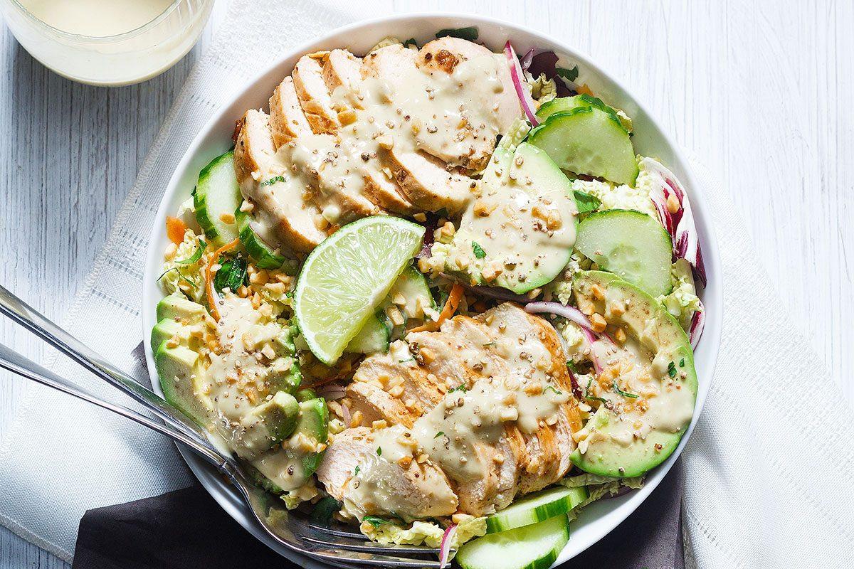 Avocado Chicken Salad  Avocado Chicken Salad Recipe — Eatwell101