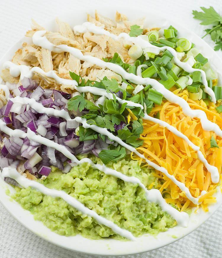 Avocado Chicken Salad  Chicken Avocado Salad Roll Ups OMG Chocolate Desserts