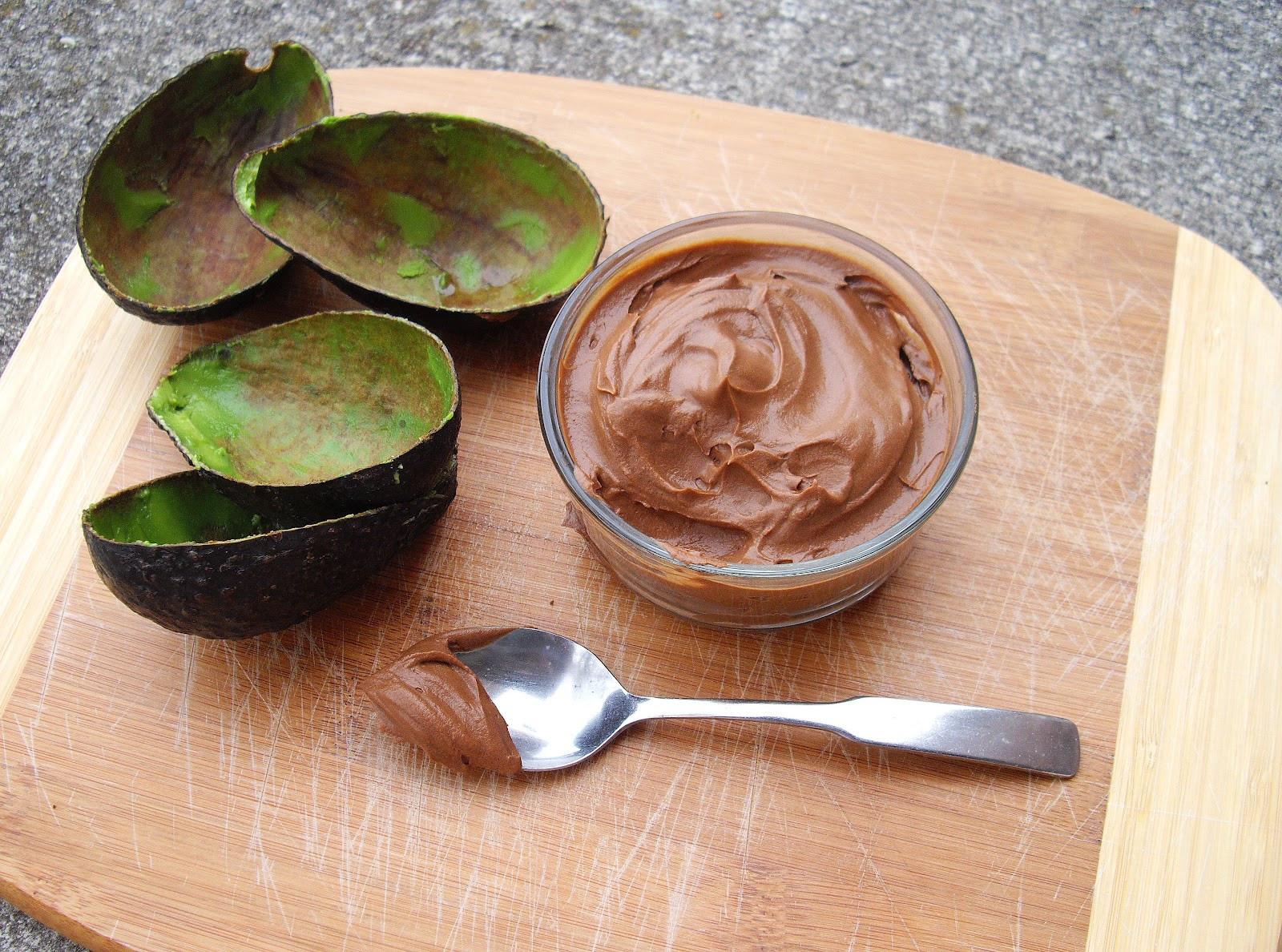Avocado Chocolate Mousse  Avocado Chocolate Mousse