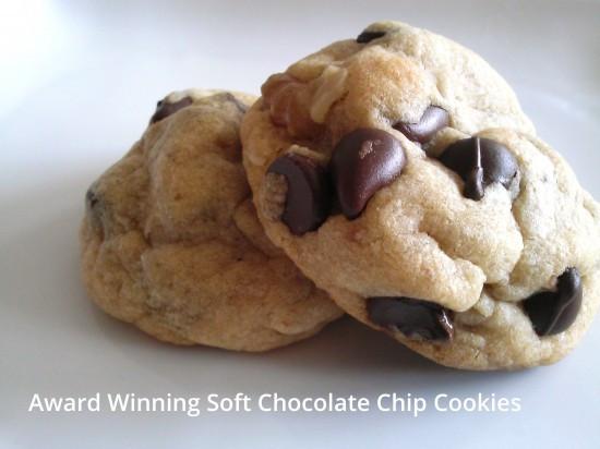 Award Winning Chocolate Chip Cookies  Award Winning Soft Chocolate Chip Cookies