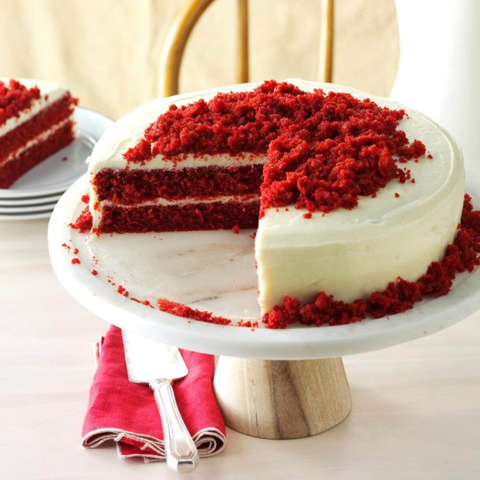 Award Winning Red Velvet Cake Recipe  The Best Cake Recipes From Every State