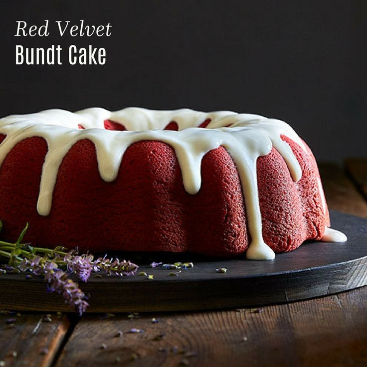 Award Winning Red Velvet Cake Recipe  Red Velvet Bundt Cake Recipe Desserts