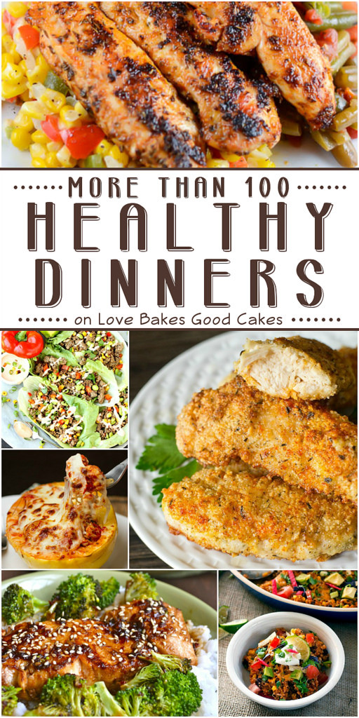 Awesome Dinner Ideas  More than 100 Healthy Dinner Ideas