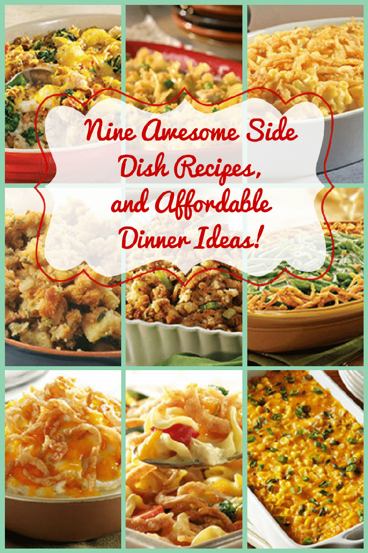 Awesome Dinner Ideas  Nine Side Dish Recipes & Affordable Dinner Ideas You ll