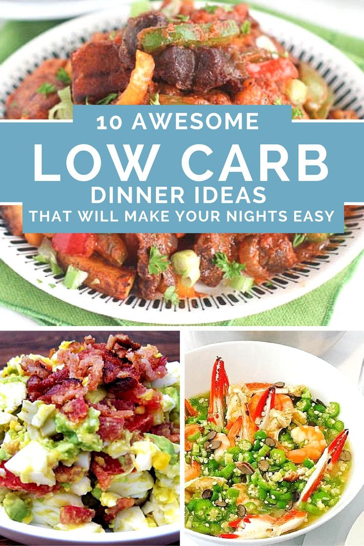 Awesome Dinner Ideas  10 Awesome Low Carb Dinner Ideas That Will Make Your