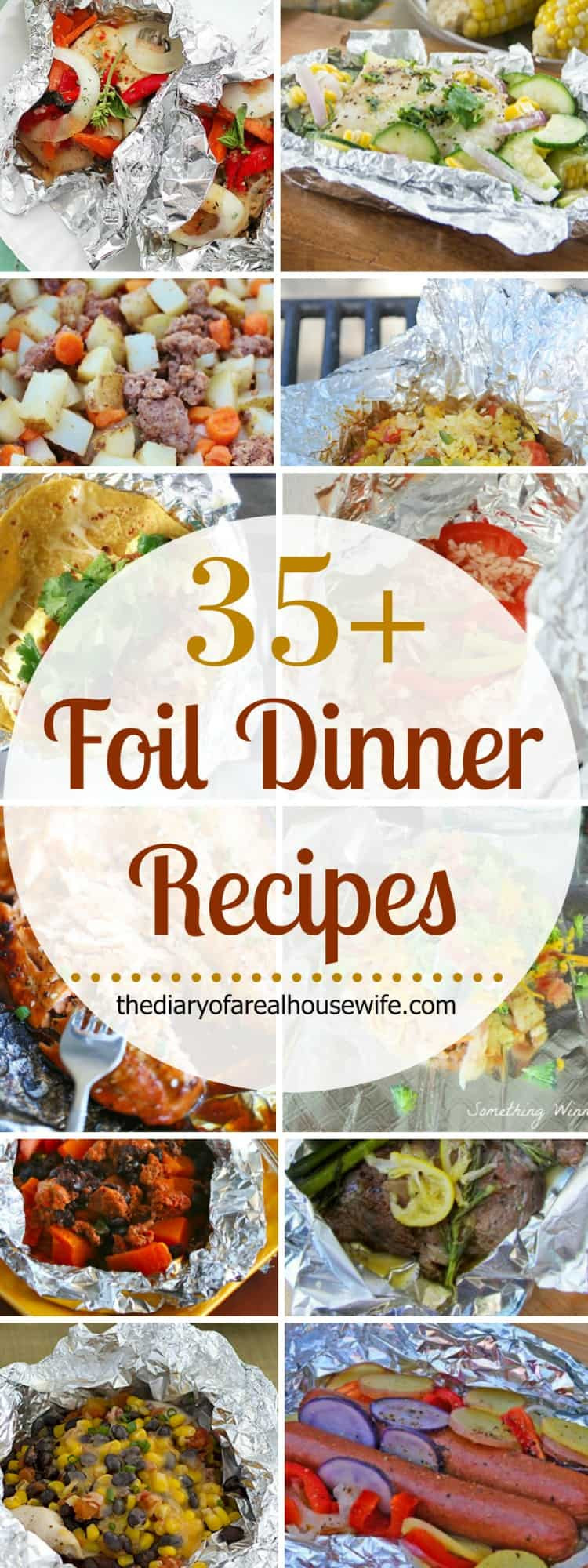 Awesome Dinner Ideas  Foil Dinner Recipes The Diary of a Real Housewife