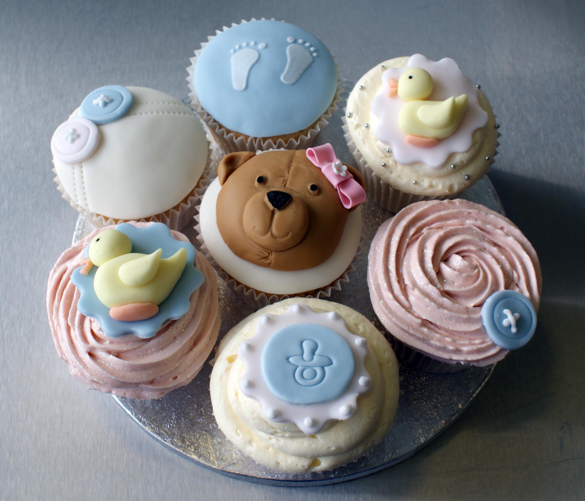 Baby Shower Cupcakes  Baby Shower Cupcakes Cupcakes Celebration Cakes