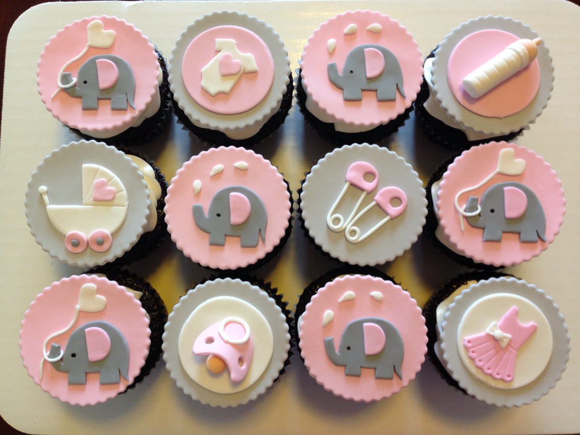 Baby Shower Cupcakes  Order It s A Girl Baby Shower Cupcakes line Buy and
