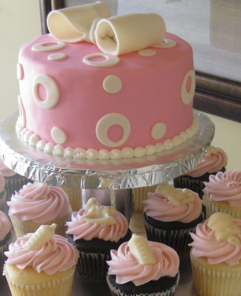 Baby Shower Cupcakes  Baby Shower Cakes and Ideas
