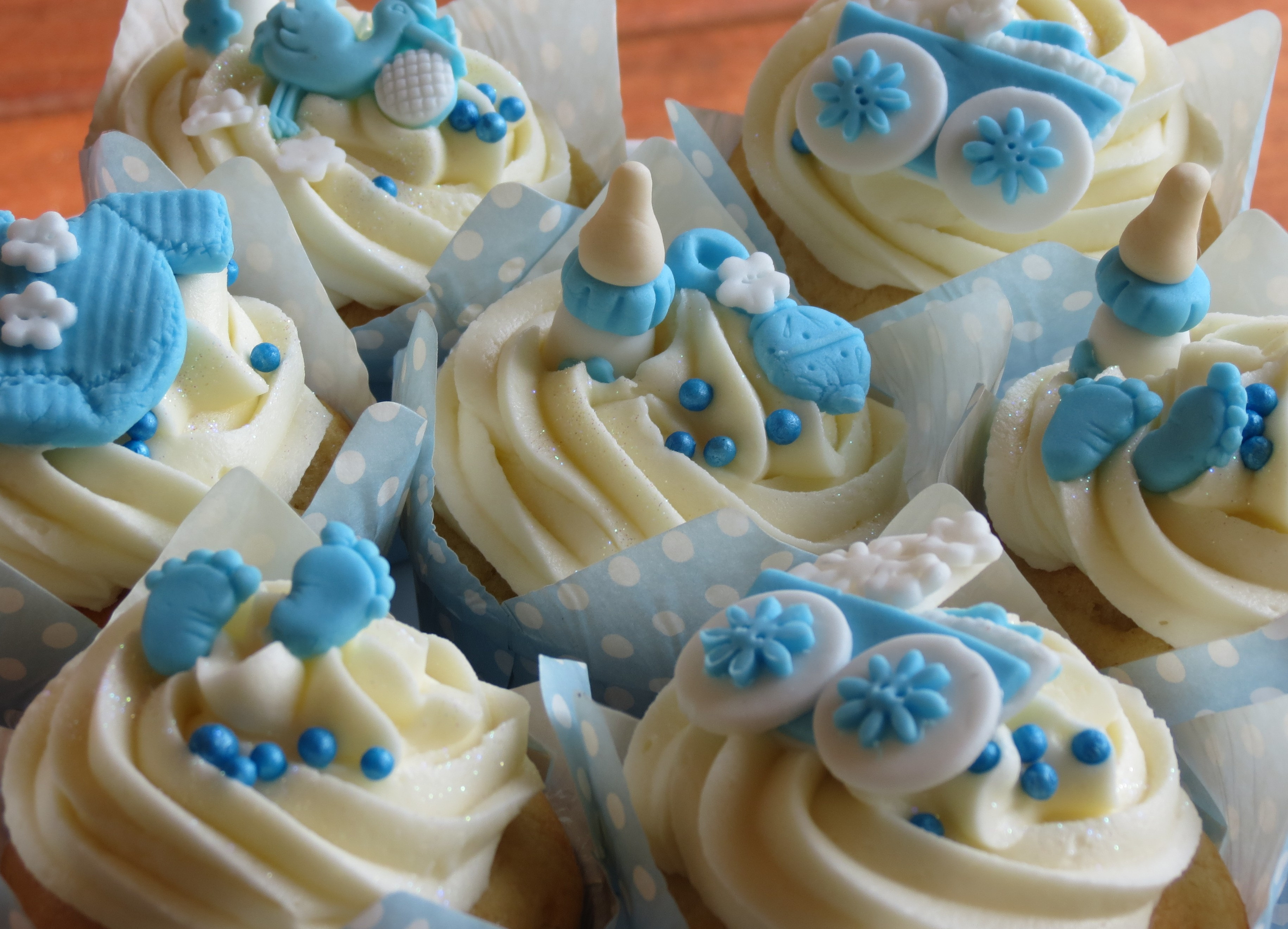 Baby Shower Cupcakes For Boys  Living Room Decorating Ideas Baby Shower Cupcakes Boy Ideas