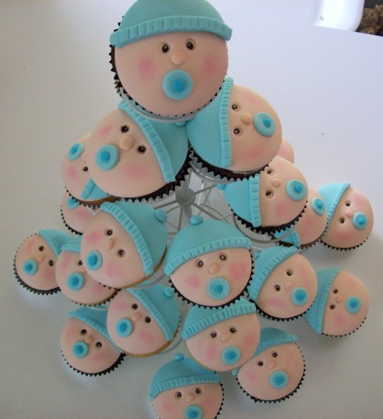 Baby Shower Cupcakes For Boys  Baby Shower Cakes and Cupcakes Cakes and Cupcakes Mumbai