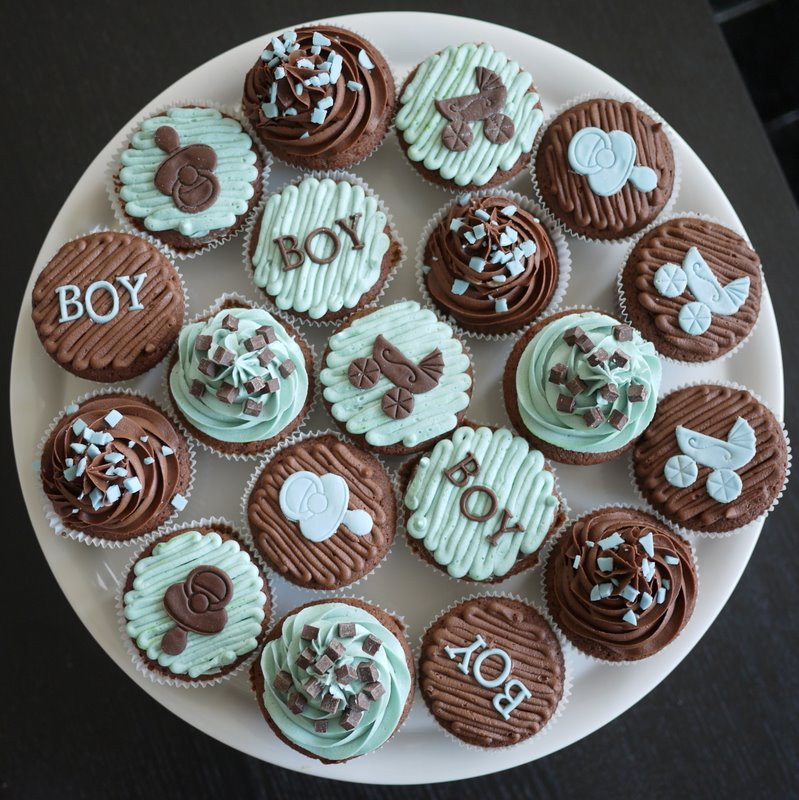 Baby Shower Cupcakes For Boys  The time has e Baby Boy Cupcakes Cake It To The Max