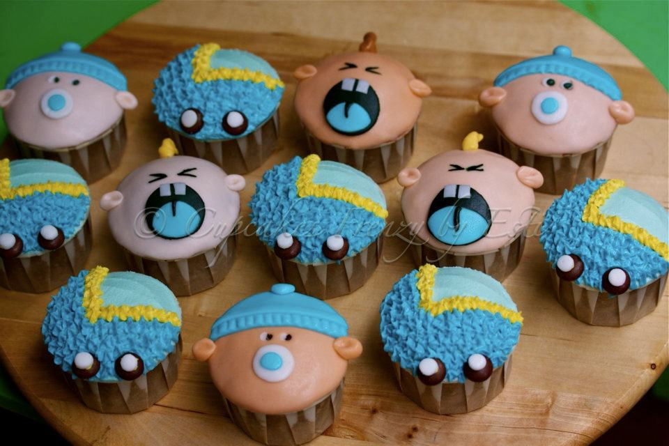 Baby Shower Cupcakes For Boys  baby shower