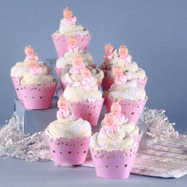 Baby Shower Cupcakes For Girls  Baby Shower Cupcakes Girls at Best Prices