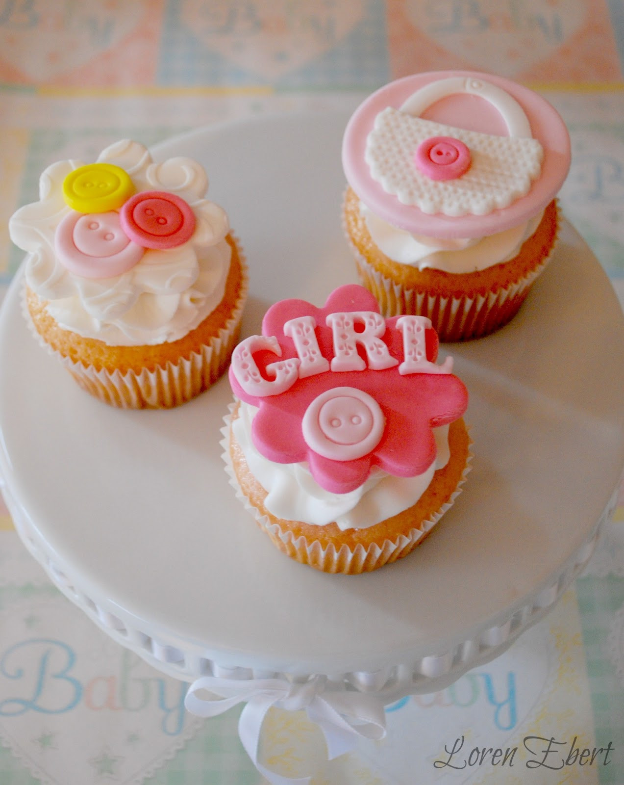 Baby Shower Cupcakes For Girls  The Baking Sheet Baby Shower Cupcakes Girl