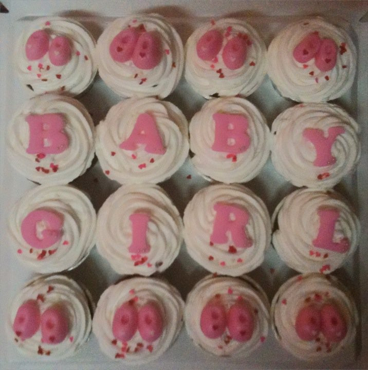 Baby Shower Cupcakes For Girls  70 Baby Shower Cakes and Cupcakes Ideas