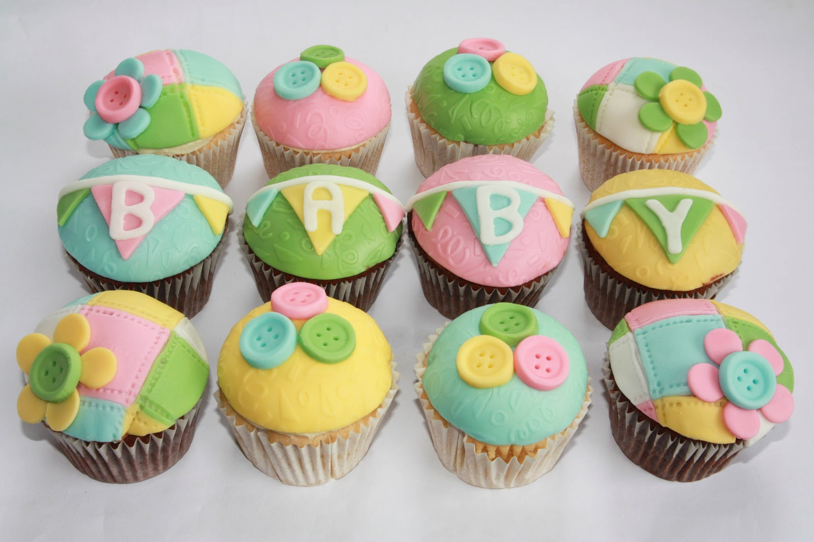 Baby Shower Cupcakes  The Cake Trail Baby Shower Cupcakes