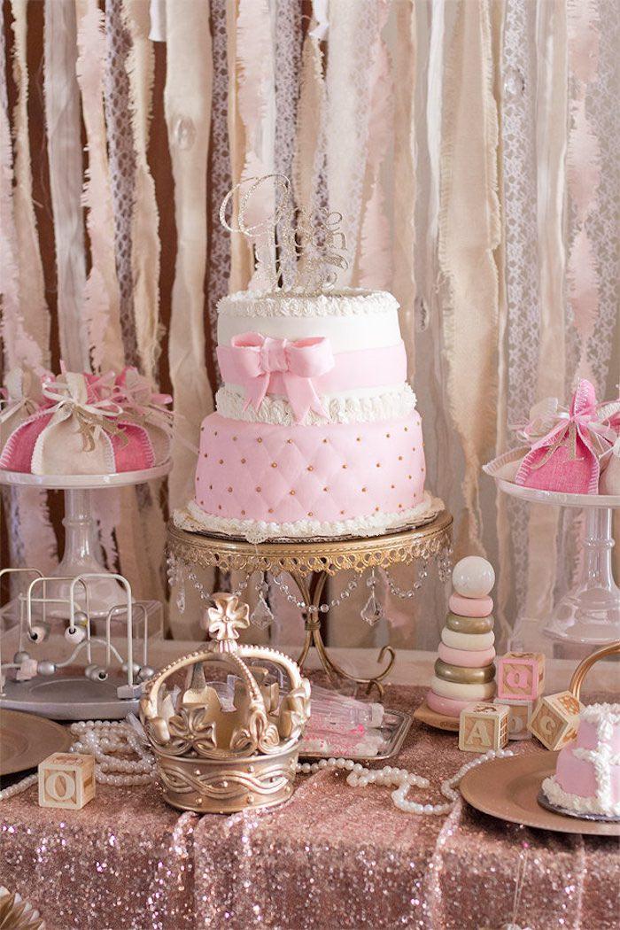 Baby Shower Dessert Table For Boy  Kara s Party Ideas Elegant Baby Shower
