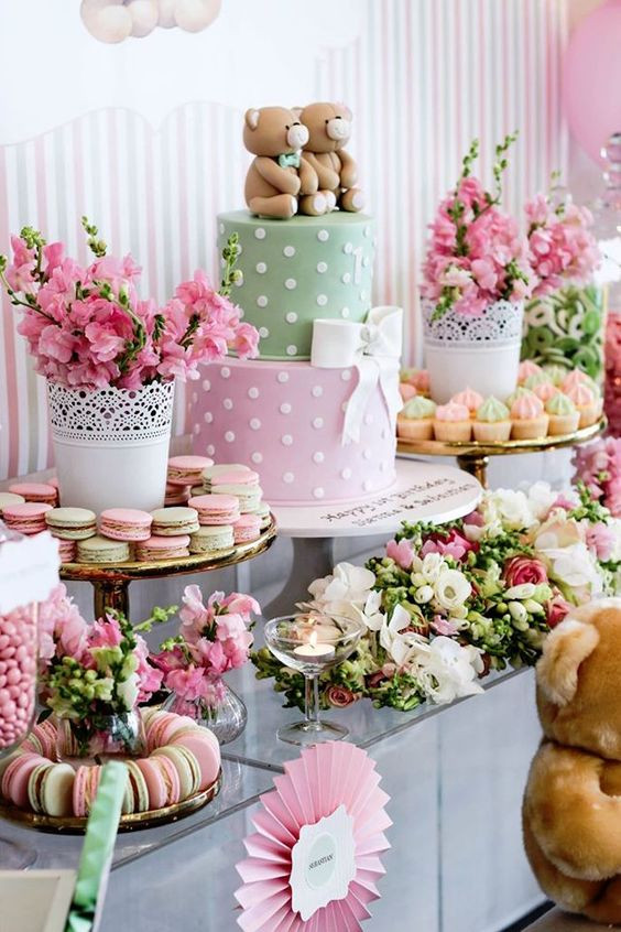Baby Shower Dessert Table For Boy  31 Cute Baby Shower Dessert Table Décor Ideas DigsDigs