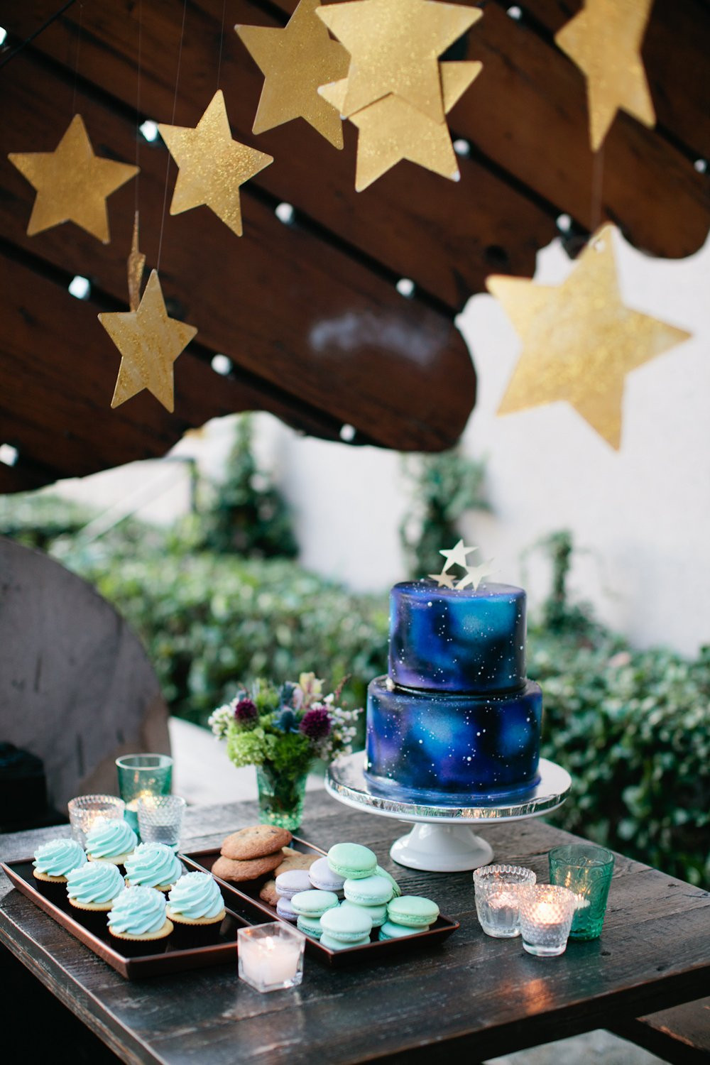 Baby Shower Dessert Table For Boy  7 Twinkly Inspirations for a Wish Upon A Star Baby Shower