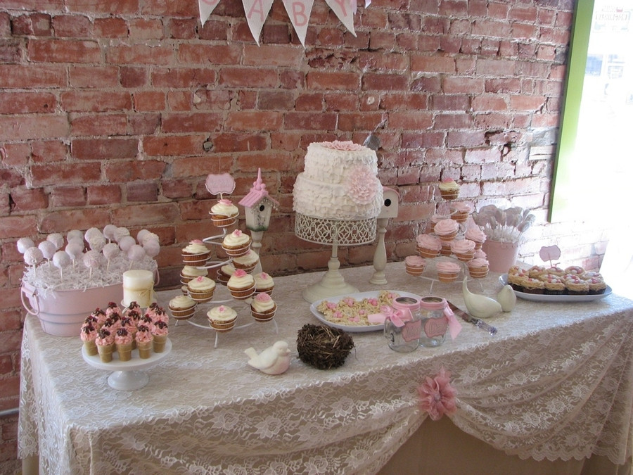 Baby Shower Dessert Table For Boy  Baby Shower CakeCentral