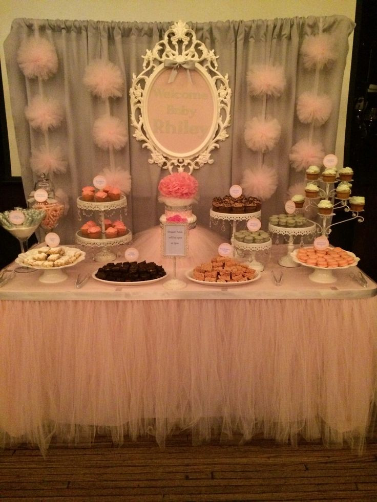 Baby Shower Dessert Table For Boy  Baby Shower Dessert Table by Bizzie Bee Creations