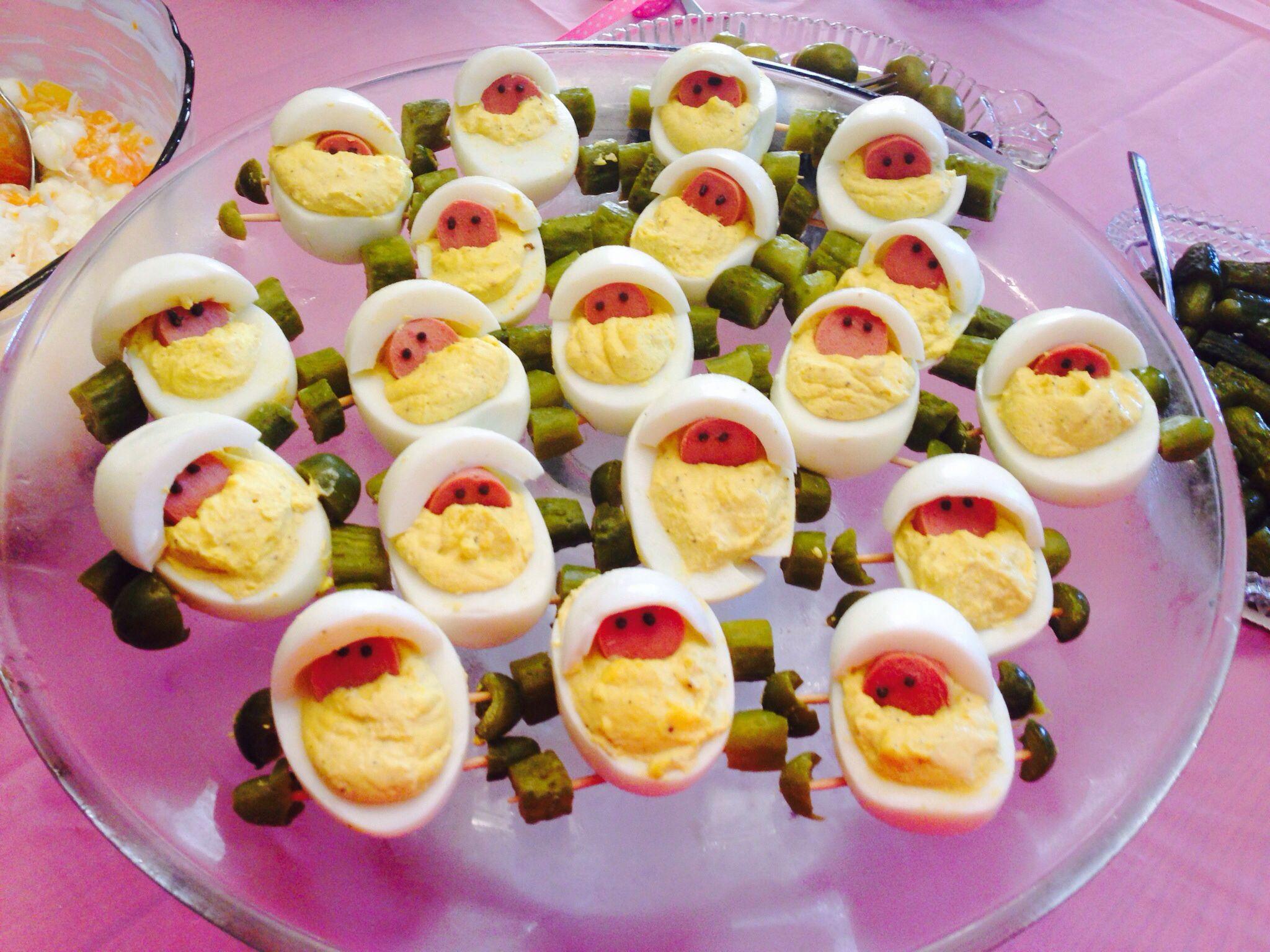 Baby Shower Deviled Eggs  Baby Carriage Deviled Eggs Ashlei Pinterest