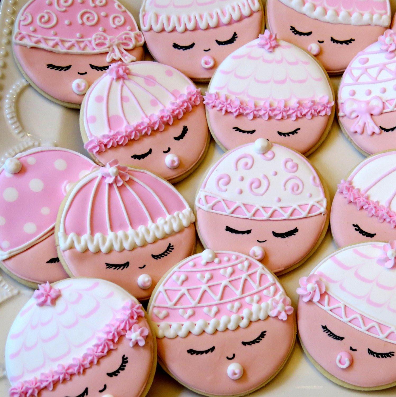 Baby Shower Sugar Cookies  Items similar to 12 Custom Baby Shower favors Sugar