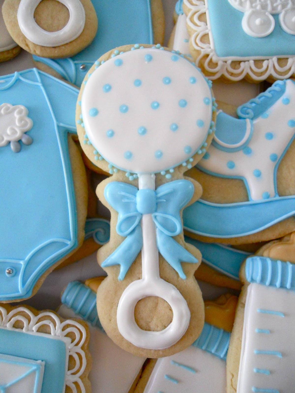 Baby Shower Sugar Cookies  Oh Sugar Events Little Boy Blue